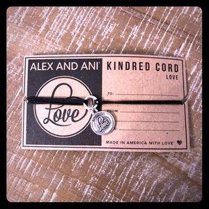 Alex and Ani Kindred Cord Love Bracelet